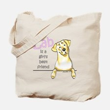 Yellow Lab BF Tote Bag