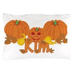 Halloween Pumpkin Kim Pillow Case