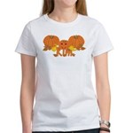 Halloween Pumpkin Kim Women's T-Shirt
