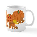 Halloween Pumpkin Kim Mug