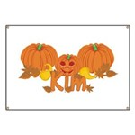 Halloween Pumpkin Kim Banner