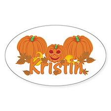 Halloween Pumpkin Kristin Decal