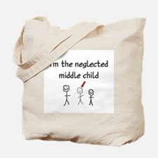 I'm the neglected middle child Tote Bag