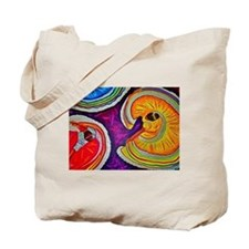 Circles on the Ground Tote Bag
