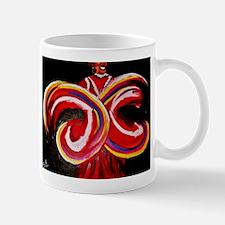Red Circles Mug