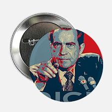 """Nixon - """"DICK"""" 2.25"""" Button"""