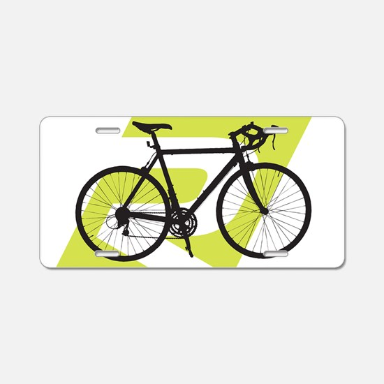 Cycling License Plate