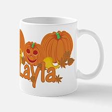 Halloween Pumpkin Layla Mug