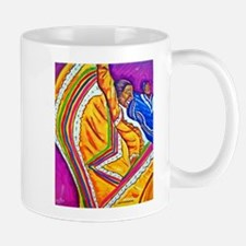 Woman in Yellow Dress Mug