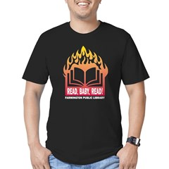 Read Baby Read Men's Fitted T-Shirt (dark)