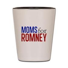 Moms for Romney Shot Glass