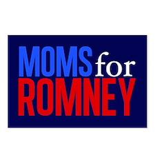 Moms for Romney Postcards (Package of 8)