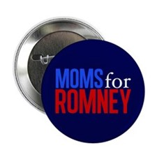 "Moms for Romney 2.25"" Button"
