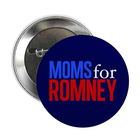 "Moms for Romney 2.25"" Button"