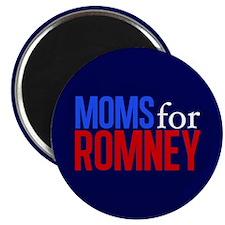 Moms for Romney Magnet