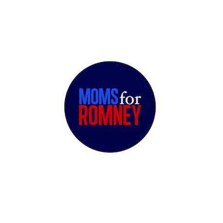 Moms for Romney Mini Button (10 pack)