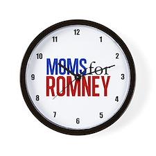 Moms for Romney Wall Clock