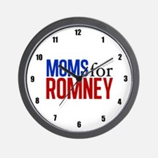 Moms for Romney Wall Clock