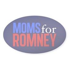Moms for Romney Decal