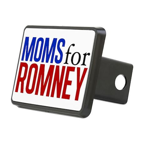 Moms for Romney Rectangular Hitch Cover