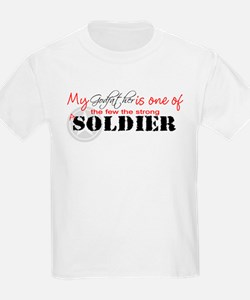 My Godfather is one of the fe Kids T-Shirt T-Shirt