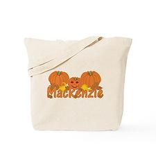 Halloween Pumpkin Mackenzie Tote Bag