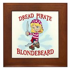 Blondebeard2 Framed Tile