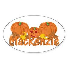 Halloween Pumpkin Mackenzie Decal