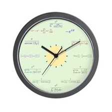 Math Wall Clock