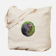 Wet Beaver Tote Bag