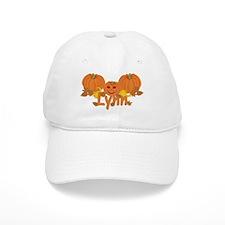 Halloween Pumpkin Lynn Baseball Cap