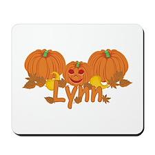 Halloween Pumpkin Lynn Mousepad