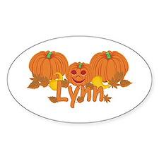 Halloween Pumpkin Lynn Decal
