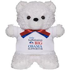 little buffalonian BIG OBAMA SUPPORTER Teddy Bear