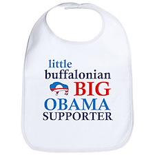 little buffalonian BIG OBAMA SUPPORTER Bib