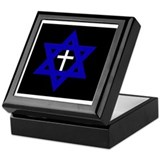 Star of david Square Keepsake Boxes