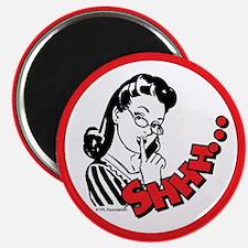 Shhh...Librarian Magnet