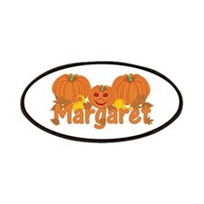 Halloween Pumpkin Margaret Patches