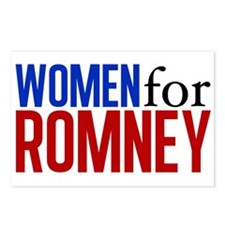Women for Romney Postcards (Package of 8)