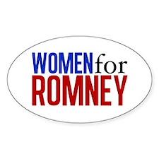 Women for Romney Decal