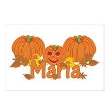 Halloween Pumpkin Maria Postcards (Package of 8)