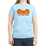 Halloween Pumpkin Mariah Women's Light T-Shirt