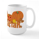Halloween Pumpkin Mariah Large Mug