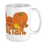 Halloween Pumpkin Mariah Large Mug