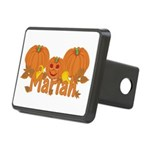 Halloween Pumpkin Mariah Rectangular Hitch Cover