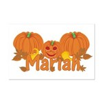 Halloween Pumpkin Mariah Mini Poster Print