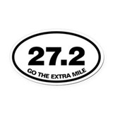 27.2 Oval Car Magnets