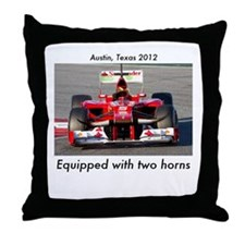 2012 U.S. Grand Prix Throw Pillow