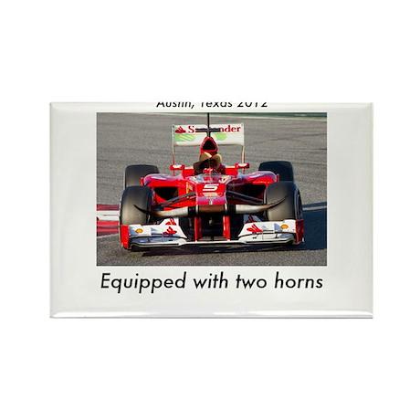 2012 U.S. Grand Prix Rectangle Magnet