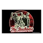 Buckner's 100% Clearance Rate Sticker